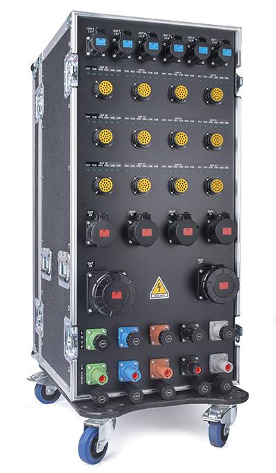 Box 400amp 3ph N E 400v On Case